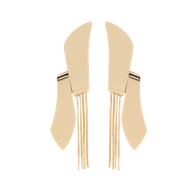 Metal Pendant Earrings