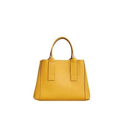 Pebbled Effect Shopper Bag