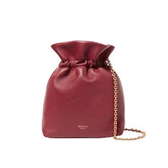 Lynton Leather Bucket Bag