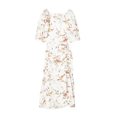 La Vie Belle Bouquet Poplin Dress