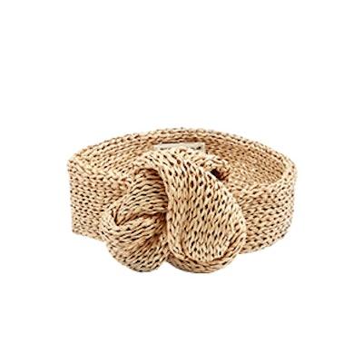 Rox Raffia-Knit Headband
