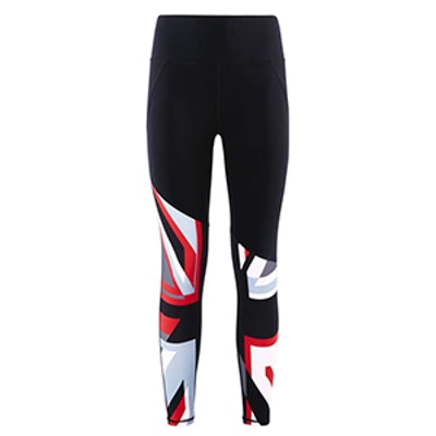 Power Union Jack Ankle Leggings