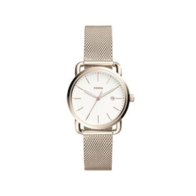 The Commuter Three-Hand Date Stainless Steel Watch