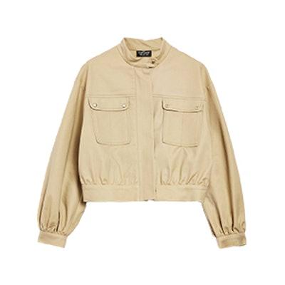 Petite Patch Pocket Crop Jacket