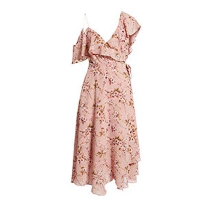 Jenna Asymmetrical Wrap Dress