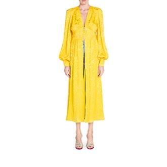 Jacquard Robe Dress