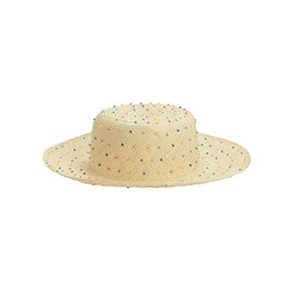 Seed Multicolored Beaded Hat