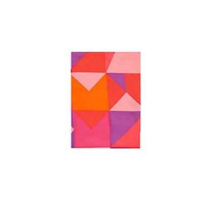 Geometric Design Scarf