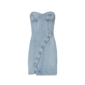 Claudia Denim Bustier Dress