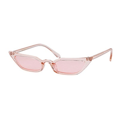 Adewu Cat Eye Candy Lens Sunglasses