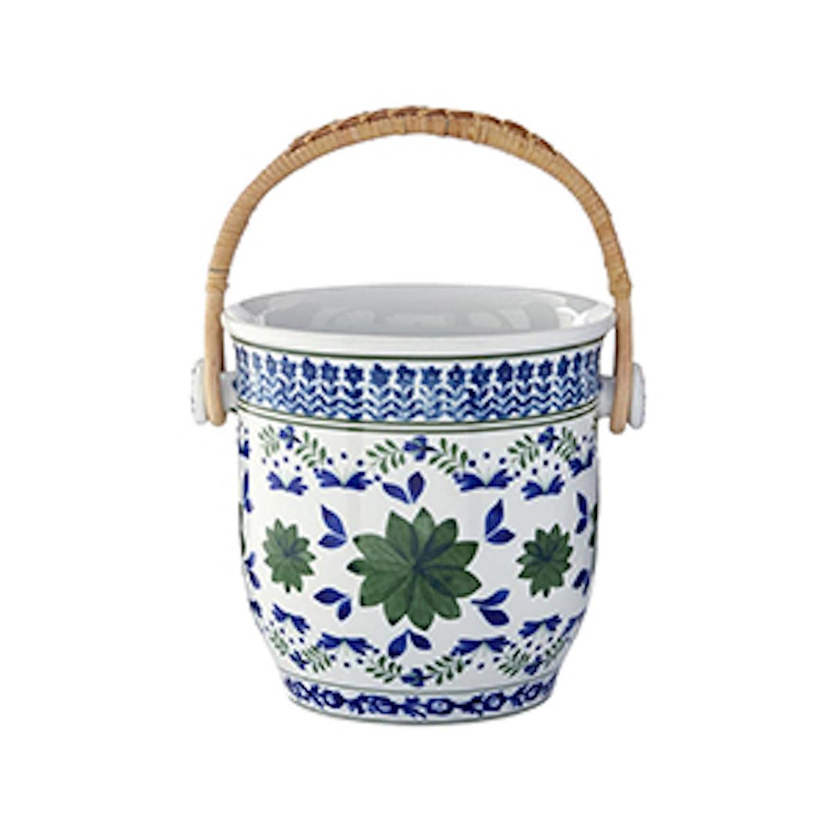 Ardsley Champagne Bucket With Woven Handle