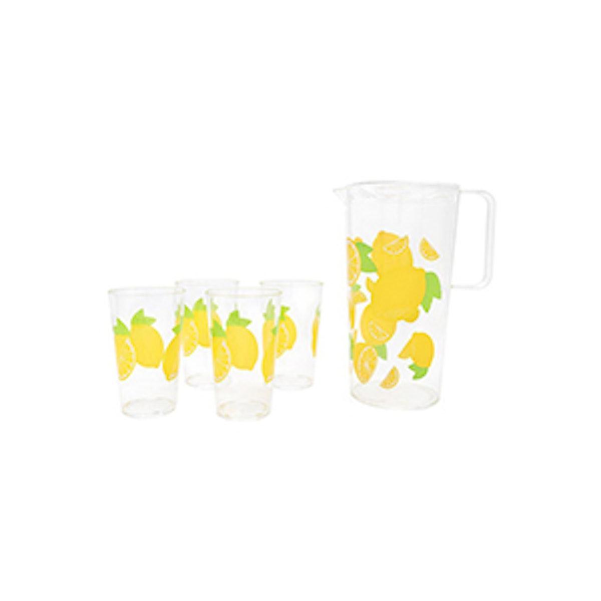 Party Drinkware Set- Lemon