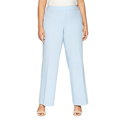 Calvin Klein Plus Size Lux Highline Pant With Button Closure