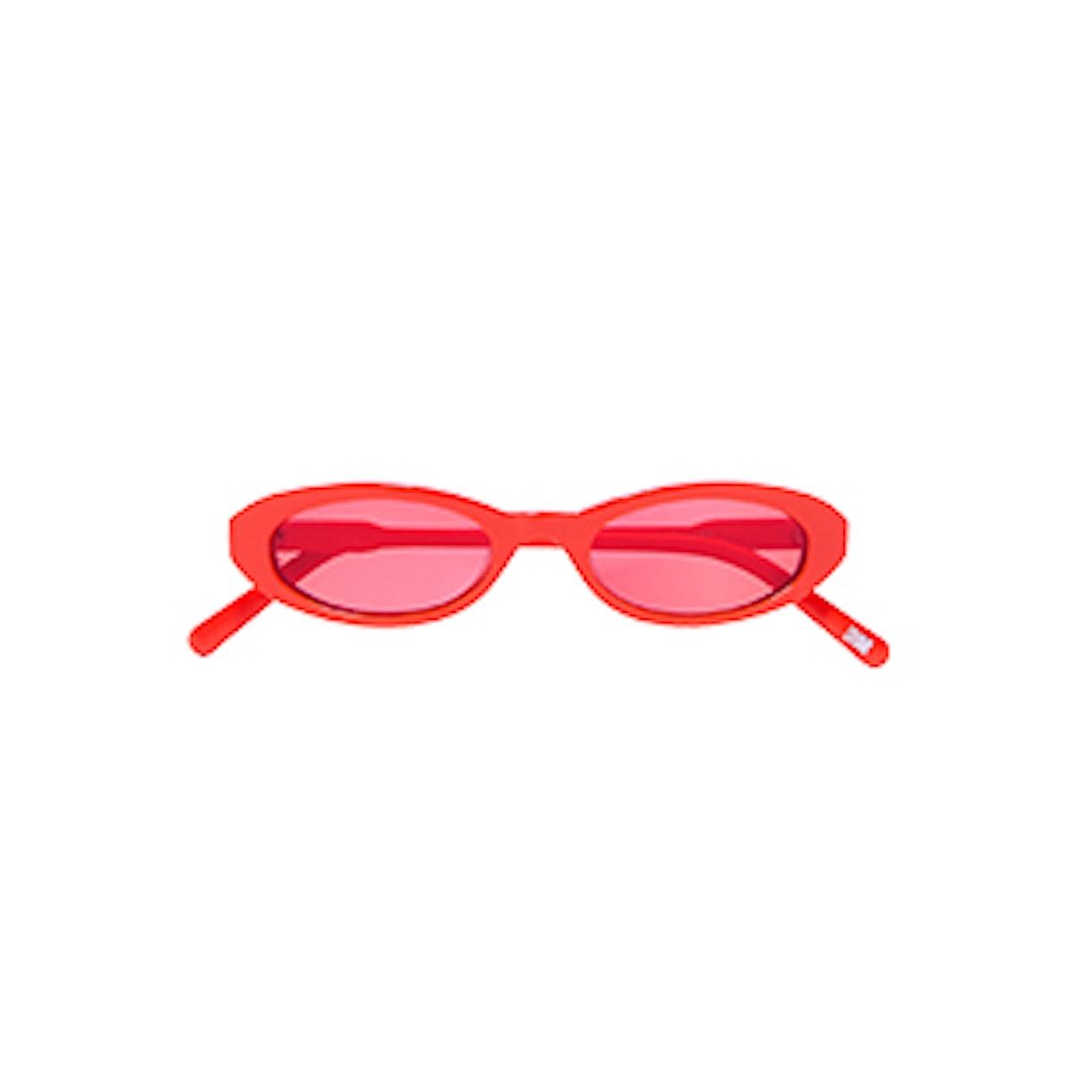 Joel Ighe Oval-Frame Acetate Sunglasses