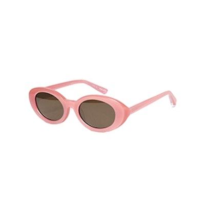 Elizabeth & James McKinley Oval Acetate Sunglasses