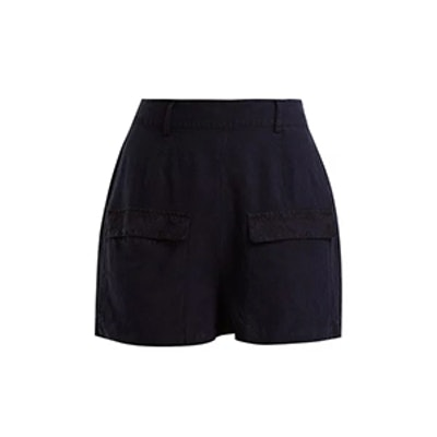 Golf Linen and Silk-Blend Bermuda Shorts