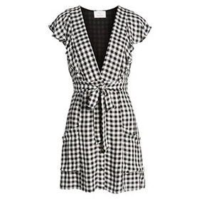 Day Trip Gingham Minidress