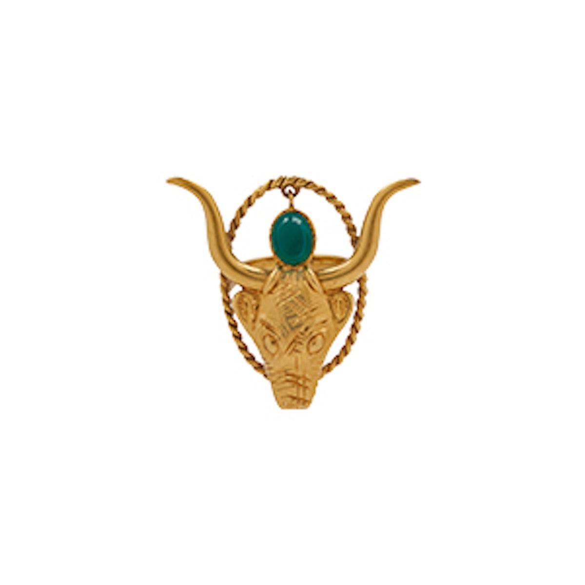 Taurus Zodiac Ring