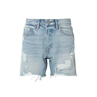Jourdan Distressed Denim Shorts