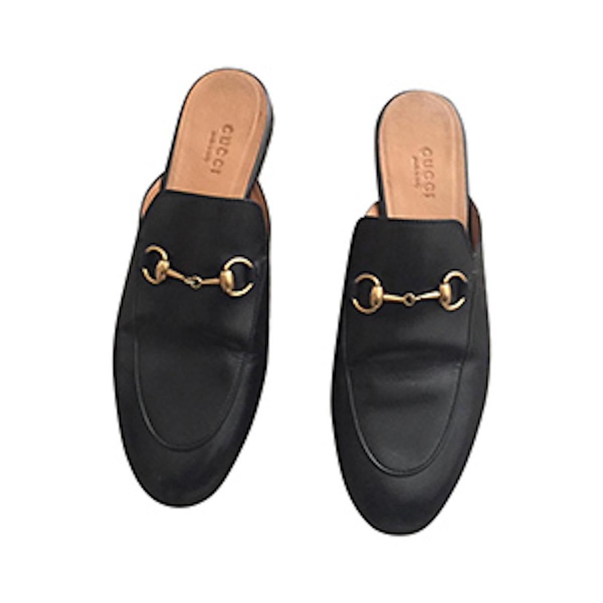 Horsebit Princetown Leather Classic Flats