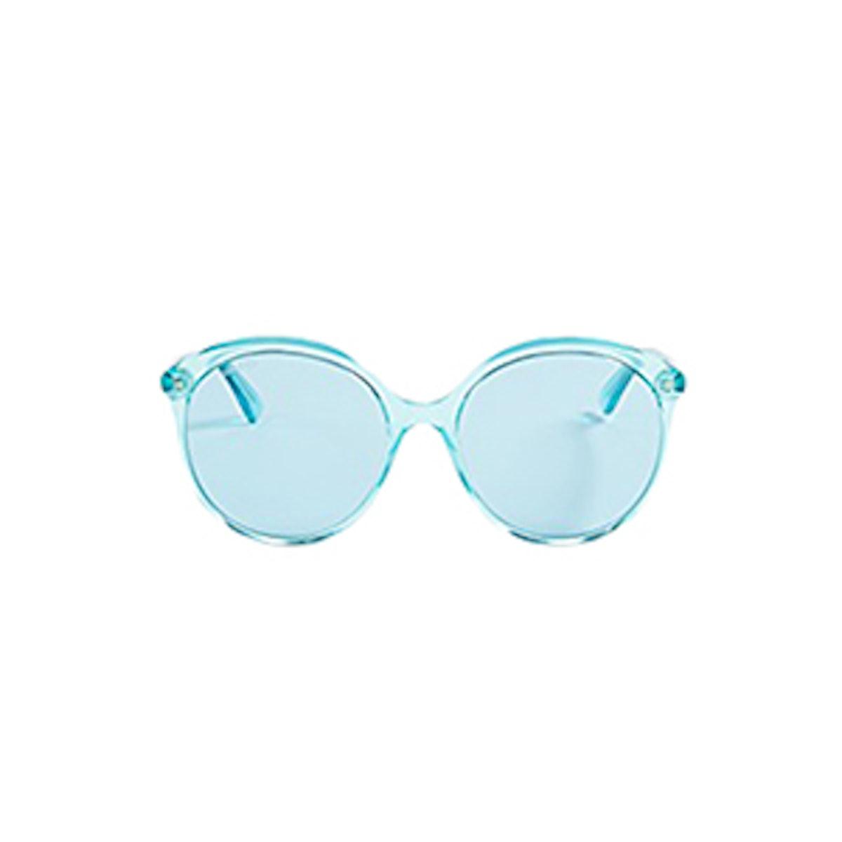 Gucci Round Monocolor Sunglasses