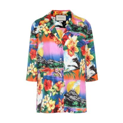 Silk Hawaiian Shirt