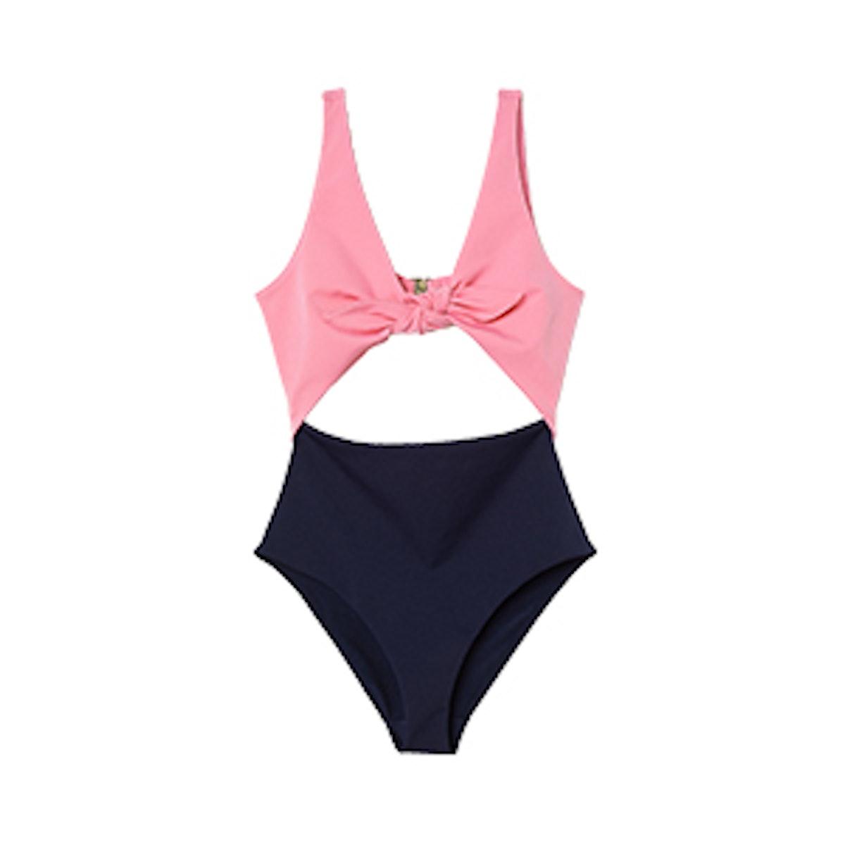 Cut-Out Swimsuit