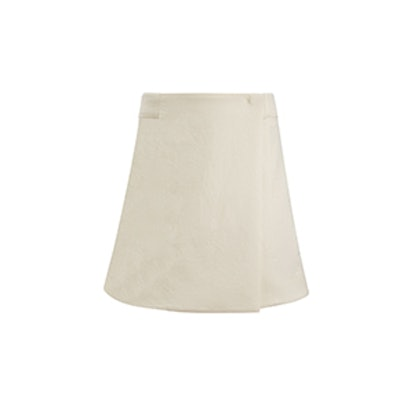 Canvas Wool Ivo Skirt