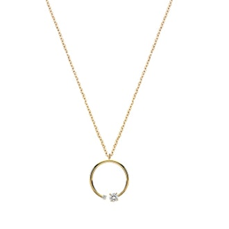 Mommy + Me Diamond Pendant Necklace
