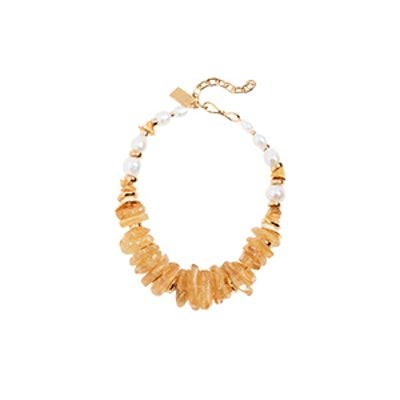 Bronze Collar Necklace