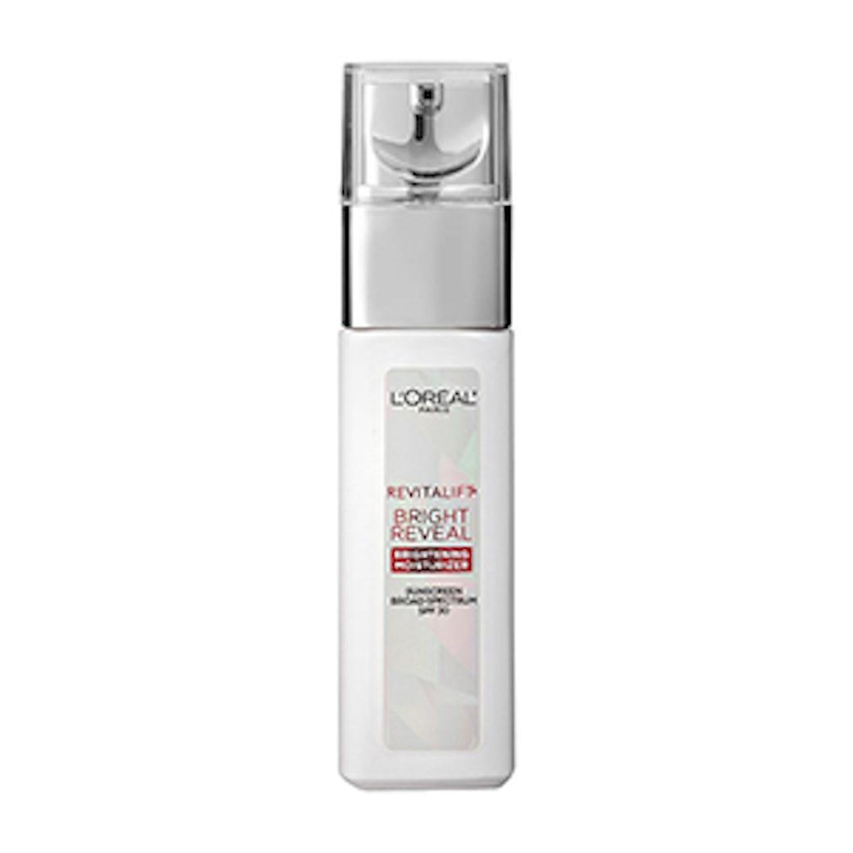 L'Oréal Revitalift Bright Reveal SPF Moisturizer