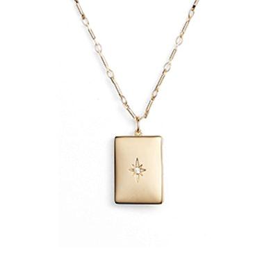 Poppy Locket Necklace