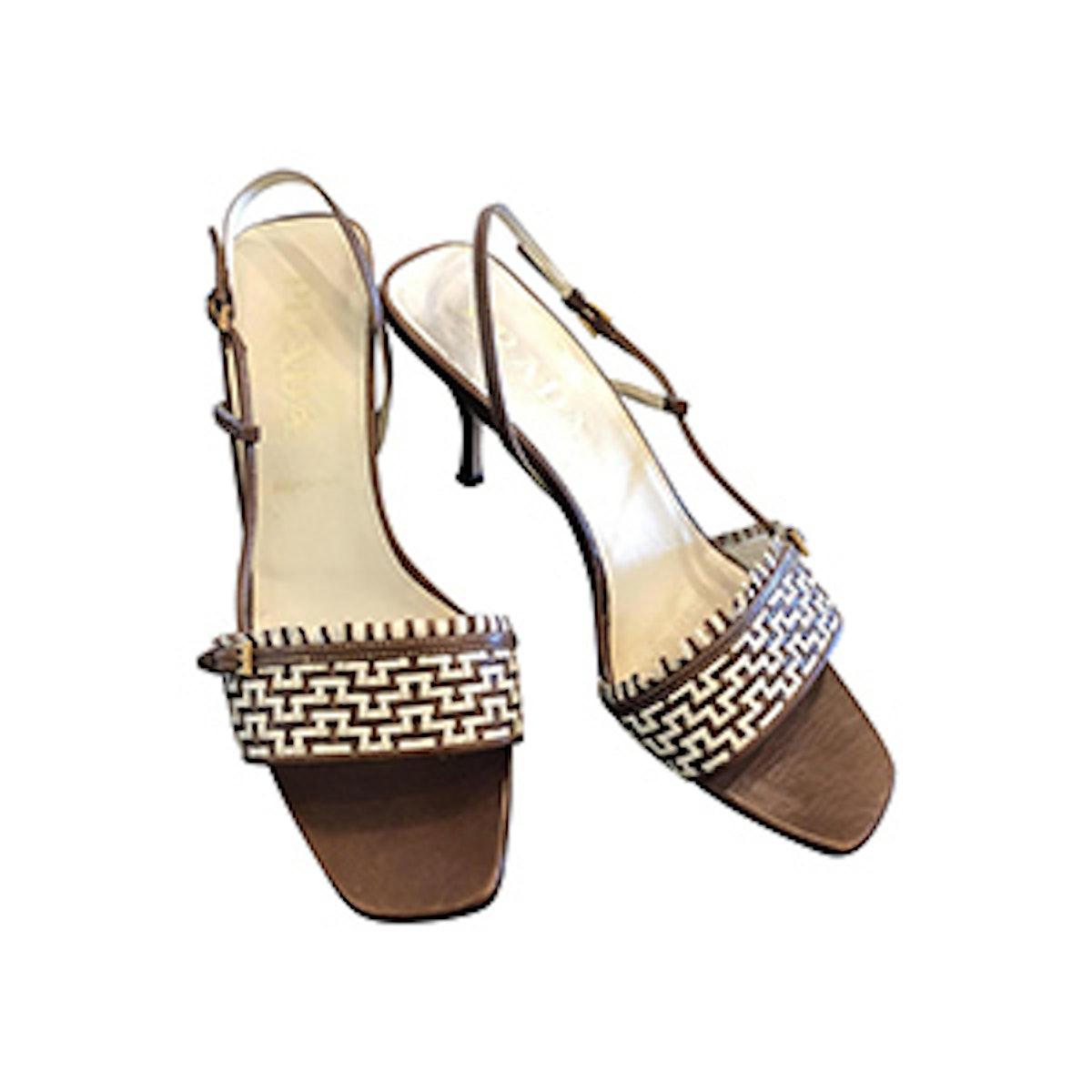 Vero Cuoio Woven Sandals