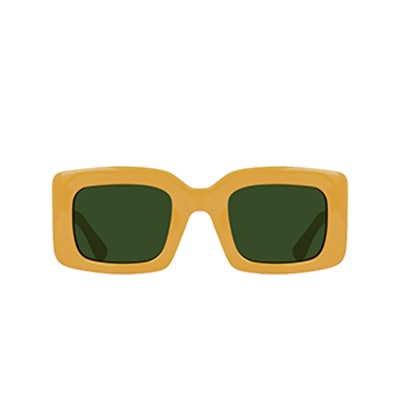 Flatscreen Unisex Square Sunglasses