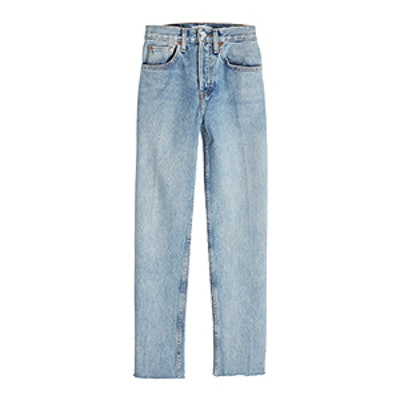 Stovepipe 27 High-Waisted Jeans