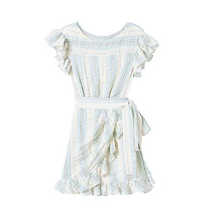 La Vie Double Gauze Stripe Dress