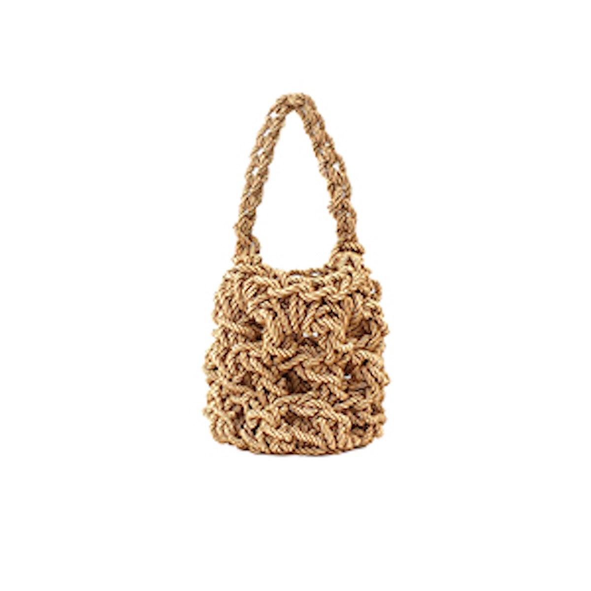 Natural Sylvia Woven Bag