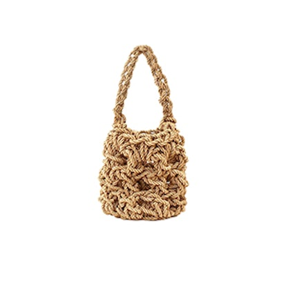 Natural Sylvia Woven Bag