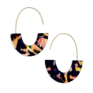 Faidra Resin Drop Earrings