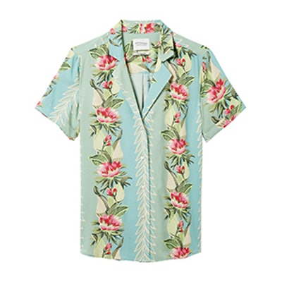 Floral Printed Shirt The Pool Side