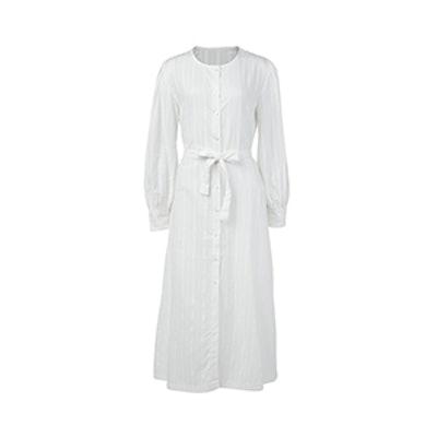 Eva Button Up Maxi Dress