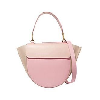 Hortensia Medium Color-Block Leather Shoulder Bag