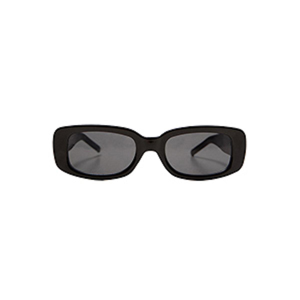 Rectangle Resin Sunglasses