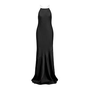 Jaclyn Cross-Back Gown