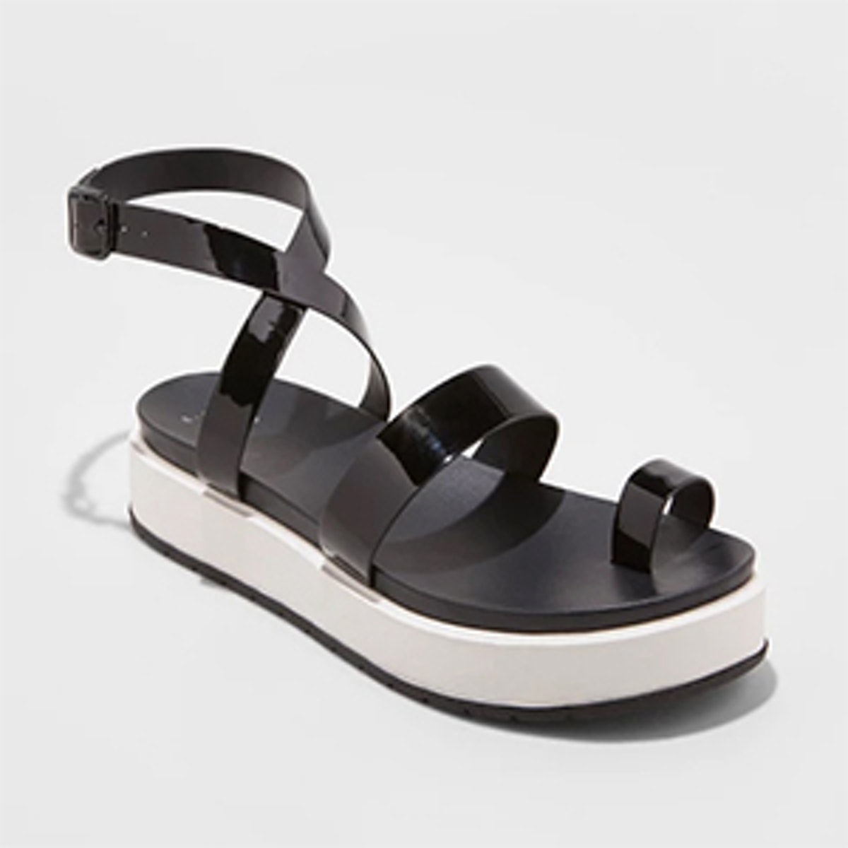 A New Day Women's Fran Flatform Toe Ring Sandals