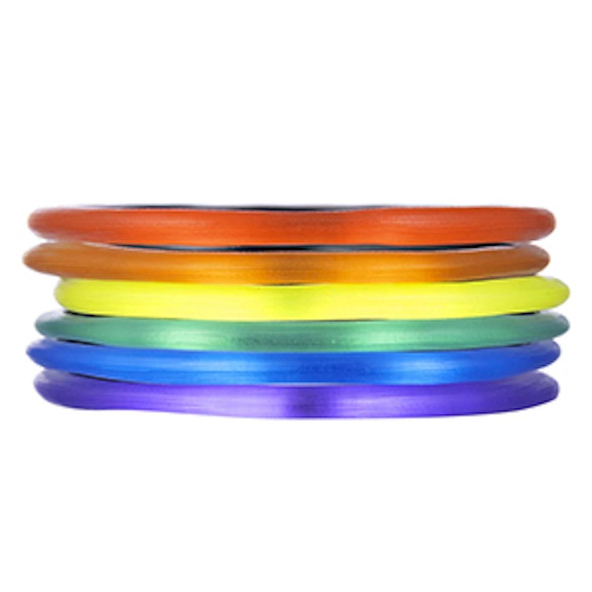 Pride Bangle Bracelet Stack