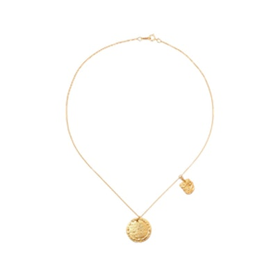 Summer Night Gold-Plated Necklace