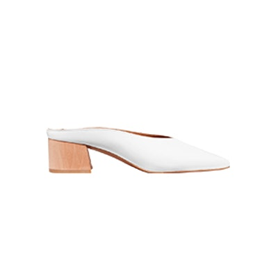 Karen Patent-Leather Mules
