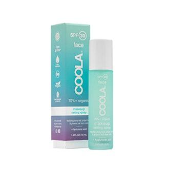Coola Organic SPF 30 Makeup Setting Sunscreen Spray