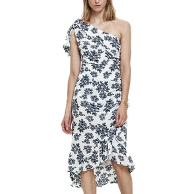 Pomme One Shoulder Dress